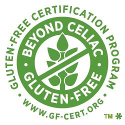 Beyond Celic & Gluten Free Certificate